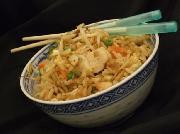 Ryžiai Kiniškai su vištiena ir daržovėmis