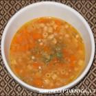 Bulvių sriuba su makaronais