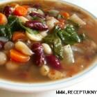 Daržovių sriuba su pupelėmis