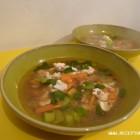 Žuvies sriuba su bulvėmis ir kruopomis