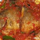 Kalėdinė troškinta žuvis