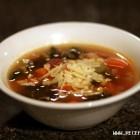 Itališka sriuba puodelyje