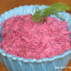 Raudonųjų kopūstų salotos
