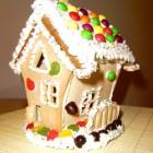 Kalėdinis saldus namelis