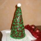 KALĖDINĖ EGLUTĖ (iš tinginio pyrago)