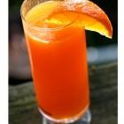 Morkų gėrimas su citrina