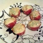 Kepti pomidorai, įdaryti ryžiais