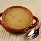 Miežinių kruopų sriuba su grybais