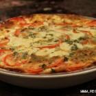 Pomidorai, apkepti su sūriu