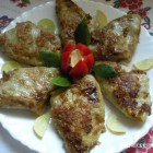 Daržovių vyniotiniai su sūriu ir mėsa
