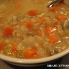 Troškintų daržovių sriuba