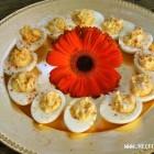 Sūriu įdaryti kiaušiniai