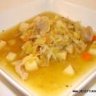Antienos sriuba su raugintais kopūstais