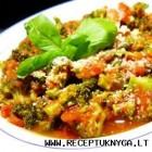 Troškinti brokoliai su pomidorais