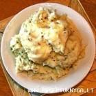 Bulvių košė su česnaku