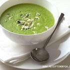 Brokolių ir mėlynojo sūrio sriuba