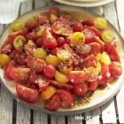 Pomidorų ir svogūnų salotos