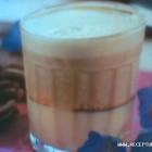 Trisluoksnė ledinė kava