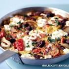 Graikiškų salotų omletas
