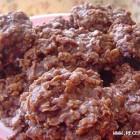 Šokoladiniai avižiniai sausainiai