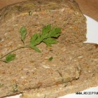 Kepenų paštetas su rukyta mėsa.